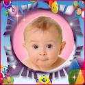 Photo kids & baby frames icon