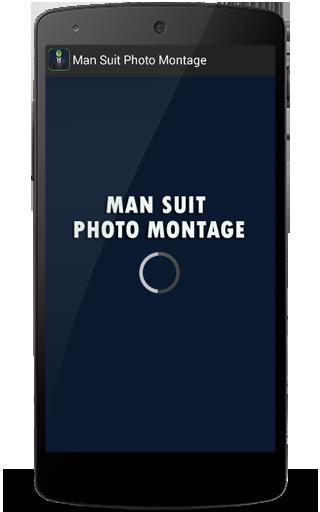 Man Suit Photo Montage