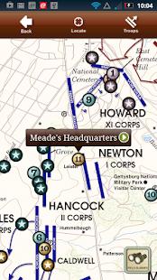 Gettysburg Battle App- screenshot thumbnail