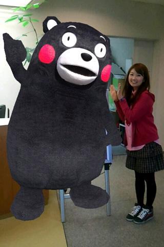くまモンと一緒に写真が撮れるARアプリ「くまフォト」- screenshot