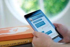 Screenshot of Tablet SMS Messaging Dinamotxt