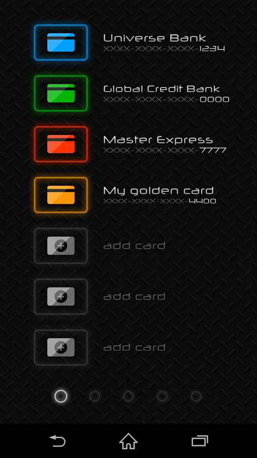 how to create a credit card pin