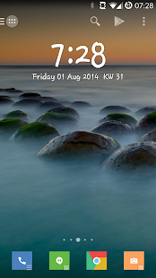 Minimalistic Text: Widgets - screenshot thumbnail