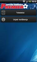 Screenshot of Premier Kladionica