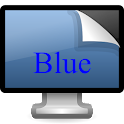Blue Tablet Wallpaper icon