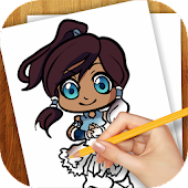 Learn To Draw Legend of Kora