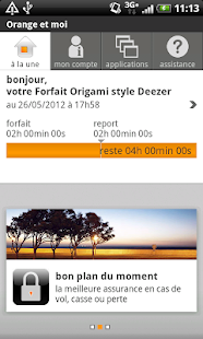 Orange et moi - screenshot thumbnail