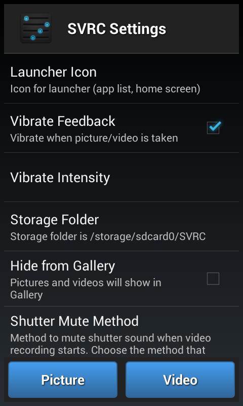 Spy Video Recorder Camera - screenshot