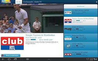 Screenshot of TV Partout Tab - OBSOLETE
