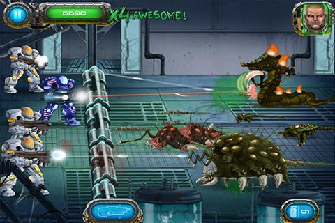 Soldier vs Aliens screenshot #3