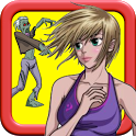 Girl vs Zombie: Run And Chase icon