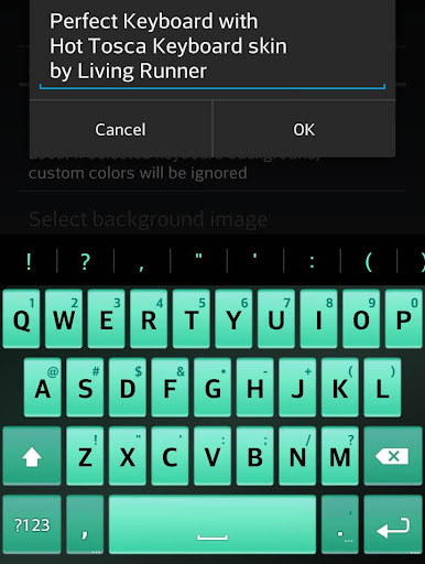 Hot Tosca Keyboard Skin