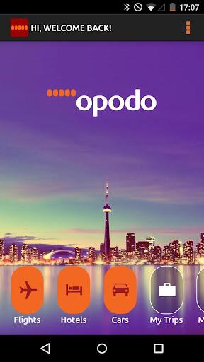 Opodo - Flights Hotels Cars