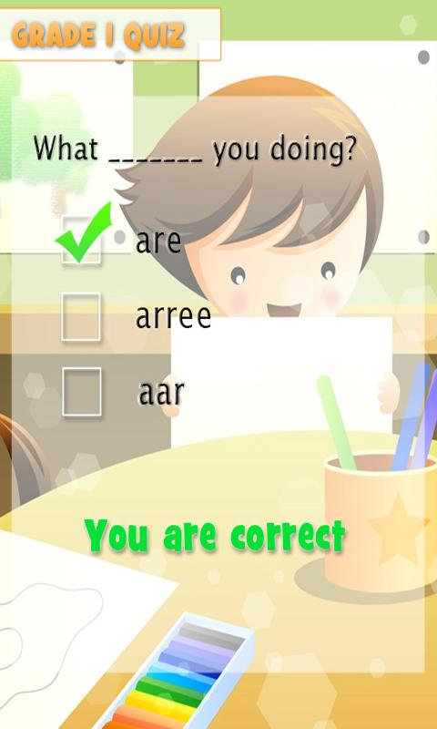 Amazing Children's Quiz for Gr - screenshot