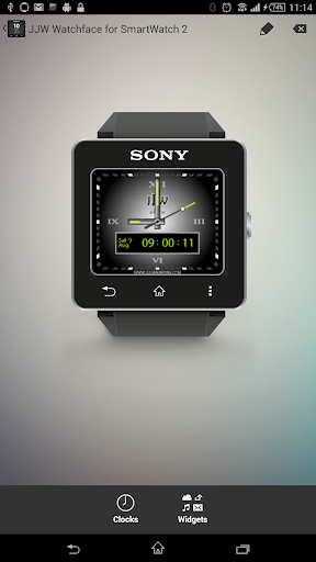 JJW Elite Black Free Watchface