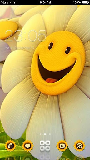 Smile CLauncher Theme