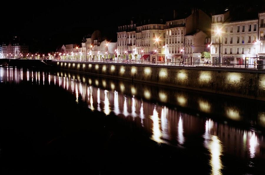 Night lights by Bogdan Penkovsky - City,  Street & Park  Night ( urban, lifestyle, city,  )