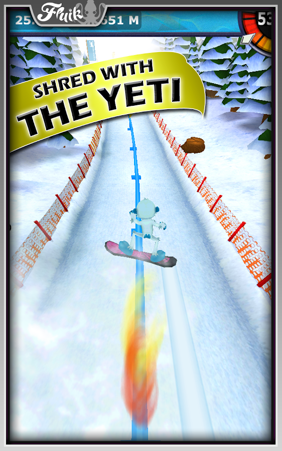 Snow Racer Friends Free- screenshot
