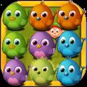 Crazy Birds Crush Saga icon
