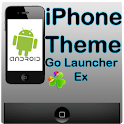 iPhone theme Go Launcher Ex logo