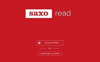 Screenshot of Saxo Read