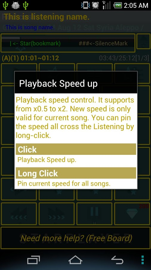 StarPlayer for audio book - screenshot