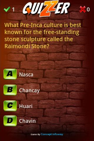 Quizzer - screenshot