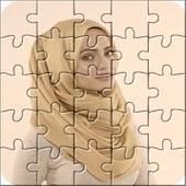 Hijab fashion Puzzle 2015