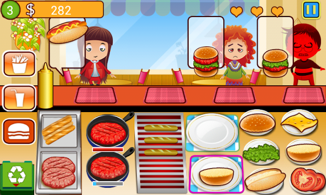 Kitty's Cafe - screenshot