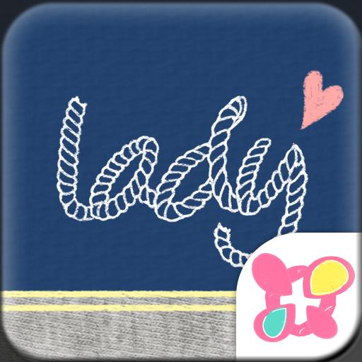 Cute Theme-Marine Lady- Icon