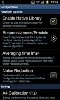 Screenshot of Tuner - DaTuner Pro (Strobe!)