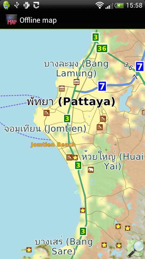Pattaya offline map - Android Apps on Google Play