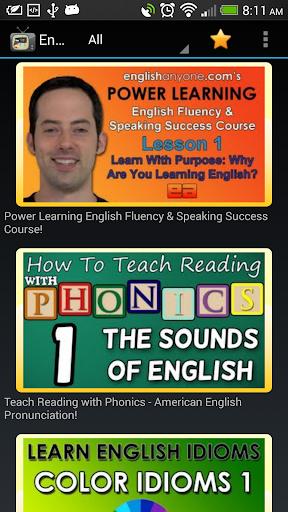 English Video Lessons