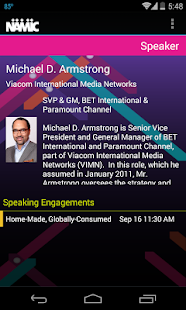 NAMIC Conference - screenshot thumbnail
