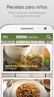 Nestlé Cocina - screenshot thumbnail
