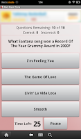 Screenshot of Rock Music Trivia