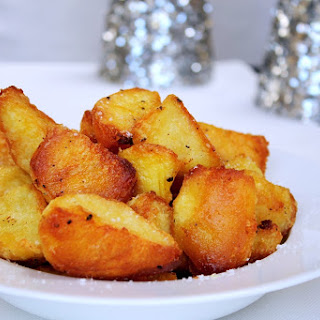 Perfect Crispy Roast Potatoes.