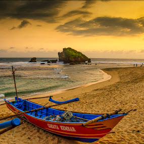 Sundak Beach - Southern sea Indonesia by Donnie Beat - Landscapes Beaches