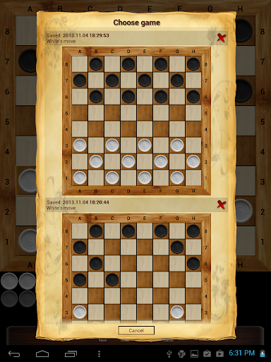 Russian checkers - Shashki 9.8.0 screenshots 19