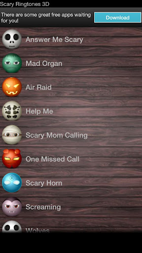 Scary Ringtones 3D