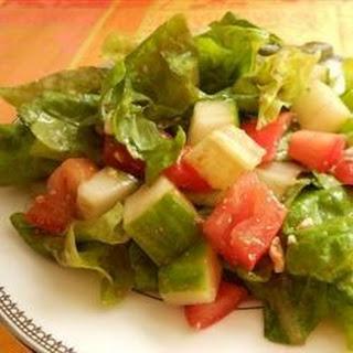 Lebanese Rubbed Salad.