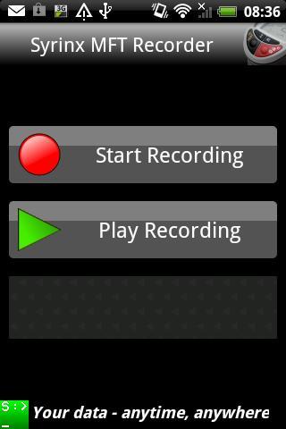 Syrinx MFT Recorder