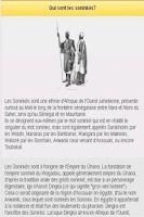 Screenshot of Apprendre le Soninké