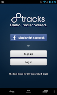 8tracks radio - screenshot thumbnail