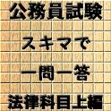 スキマ時間で合格!公務員試験 一問一答 法律科目 上編 icon