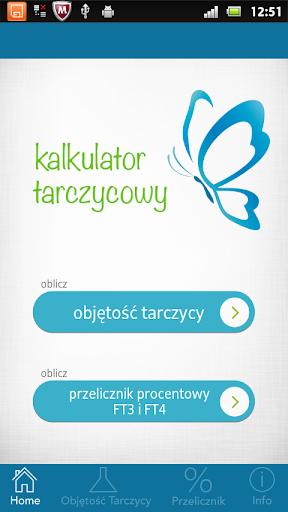 Kalkulator Tarczycowy