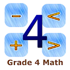 Grade 4 Math by 24by7exams icon