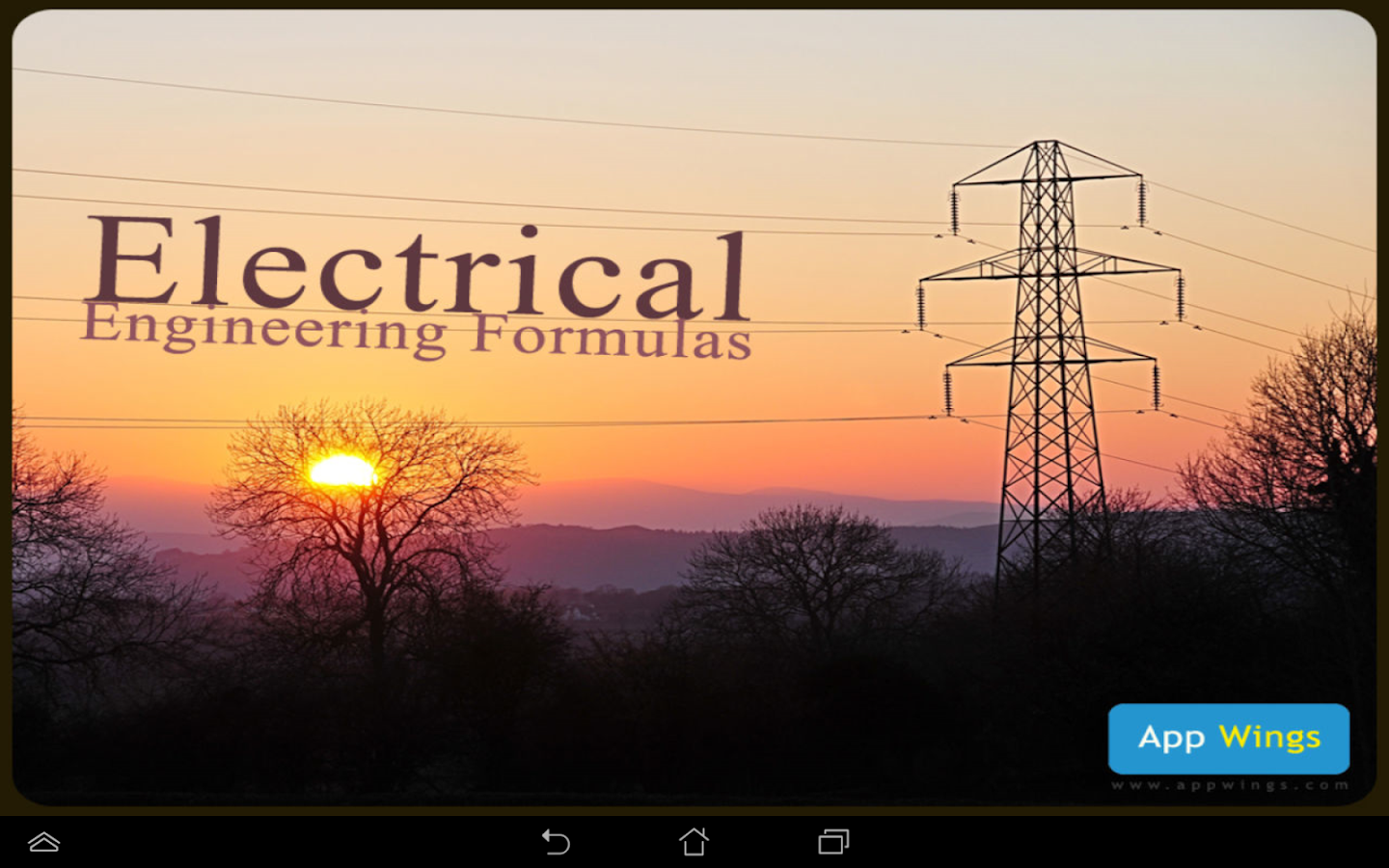 electrical engg formulas - android apps on google play, Powerpoint templates
