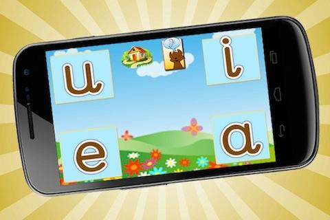 Tiki Bear Phonics Vowel Sounds- screenshot