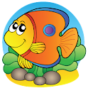 Fishing the Fishes Kids Game icon